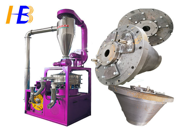 Disk Type Blade PET Grinder Machine Improve Particle Size Distribution Available